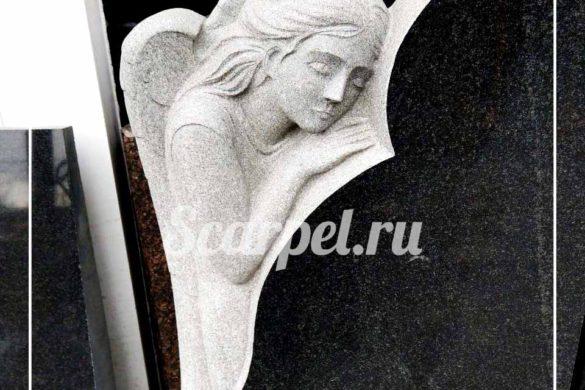 гранитные памятники с ангелом